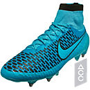 Nike Magista Obra SG-Pro Soccer Cleats - Blue and Black
