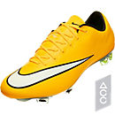 Nike Mercurial Vapor X FG Soccer Cleats - Laser Orange