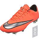 Nike Mercurial Vapor X FG Soccer Cleats - Bright Mango & Hyper Turquoise