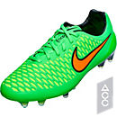 Nike Magista Opus FG Soccer Cleats - Green and Black