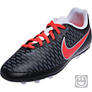 Nike Kids Magista Ola FG-R Soccer Cleats - Black & Bright Crimson