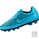 Nike Kids Magista Ola FG-R Soccer Cleats - Blue and Black