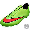 Nike Kids Mercurial Victory V FG Soccer Cleats - Electric Green