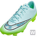 Niike Womens Mercurial Veloce II FG Soccer Cleats - Blue and Lime