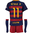 Nike Neymar Barcelona Lil Boys Home Kit 2015