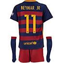 Nike Neymar Barcelona Lil Boys Home Kit 2015