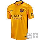 Nike Kids Barcelona Away Jersey 2015