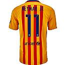Nike Kids Neymar Bracelona Away Jersey 2015