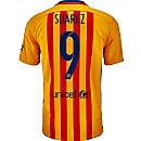 Nike Luis Suarez Barcelona Away Jersey 2015