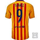 Nike Kids Luis Suarez Barcelona Away Jersey 2015