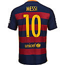 Nike Kids Lionel Messi Barcelona Home Jersey 2015-16