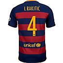 Nike Ivan Rakitic Barcelona Home Jersey 2015