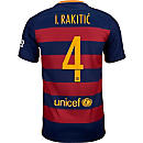 Nike Kids Ivan Rakitic Barcelona Home Jersey 2015