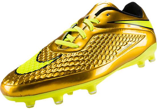 Nike youth hypervenom phelon fg kids neymar soccer cleats gold