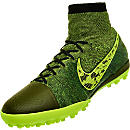 Nike Elastico SuperFly Turf Soccer Shoes - Midnight Fog
