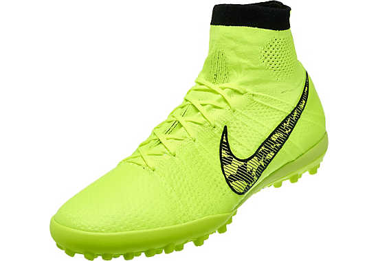 Nike elastico superfly tf volt soccer shoes