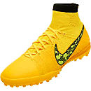 Nike Elastico SuperFly Turf Soccer Shoes - Laser Orange