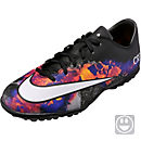 Nike Kids Mercurial CR7 Victory V TF - Black & Total Crimson
