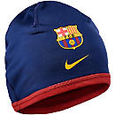 Nike Barcelona Training Beanie - Loyal Blue & Strom Red