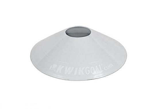 KwikGoal Small Disc Cone  White