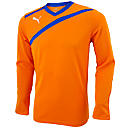 Puma Esito Keeper Jersey  Vibrant Orange with Blue