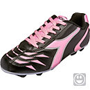 Diadora Kids Capitano MD Soccer Cleats - Black and Pink