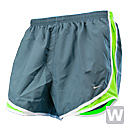 Nike Womens Tempo Short  Hasta with Electric Green