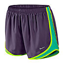 Nike Womens Tempo Short  Grand Purple with Volt