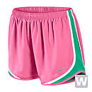 Nike Womens Tempo Short  Polarized Pink with White