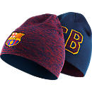Nike Barcelona Reversible Beanie - Loyal Blue & Storm Red