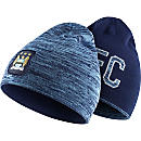Nike Manchester City Reversible Beanie - Field Blue & Midnught Navy