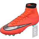 Nike Mercurial Superfly AG-R Soccer Cleats - Bright Mango & Hyper Turquoise