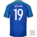 Nike Kids Willian Brazil Away Jersey 2016