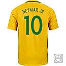 Nike Kids Neymar Jr. Brazil Home Jersey 2016