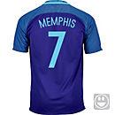 Nike Kids Memphis Depay Netherlands Away Jersey 2016
