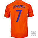 Nike Kids Memphis Depay Netherlands Home Jersey 2016