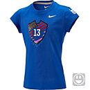Nike Kids Alex Morgan Hero Tee - Blue