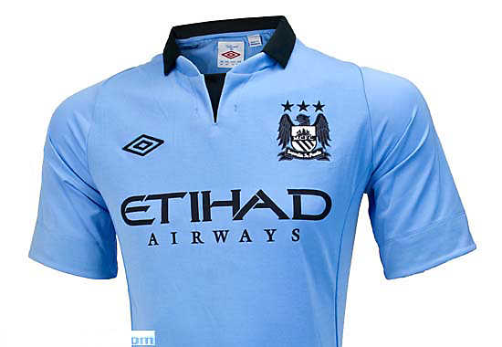Umbro Manchester City Home Jersey 2012-2013