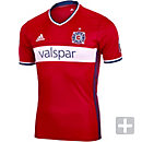 adidas Chicago Fire Authentic Home Jersey 2016