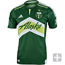 adidas Portland Timbers Authentic Home Jersey 2016