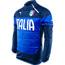 Puma Italy Padded Training Top Peacoat