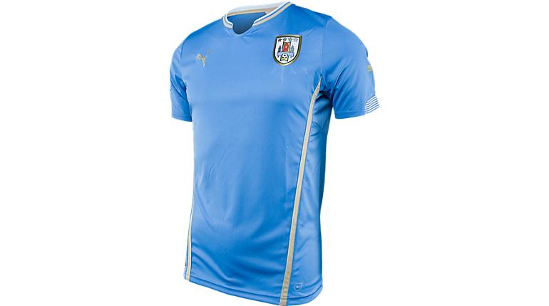 Uruguay Soccer Jersey by Puma Puma Uruguay Home Jersey gt gt