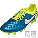 Nike Women's Tiempo Legend V FG Soccer Cleats - Blue Lagoon
