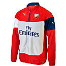 Puma Arsenal Fleece Top - Red and Gray