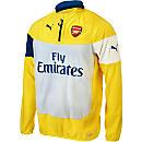 Puma Arsenal Fleece Top - Yellow and Gray