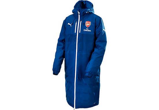 Arsenal Long Bench Jacket Gt Gt Free Shipping Gt Gt Blue Puma