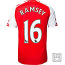 Puma Kids Ramsey Arsenal Home Jersey 2014-15