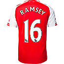 Puma Ramsey Arsenal Home Jersey 2014-15