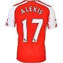 Puma Alexis Arsenal Home Jersey 2014-15