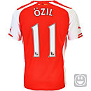 Puma Kids Ozil Arsenal Home Jersey 2014-15